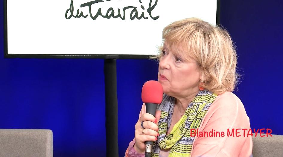 """Colonne MORRIS: Blandine #METAYER présente """"#Les survivantes"""" au Théatre XIII"""